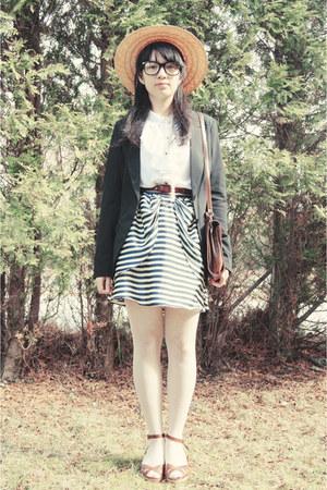 lindex blazer - hm skirt