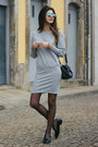 Heather-gray-zara-dress