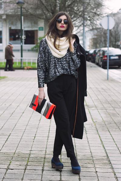 Maria Maleta bag - Zara pants