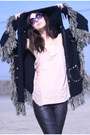 Fringe-hooded-wasteland-jacket-80s-purple-sunglasses-pleather-uo-pants-shr