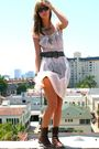 Vintage-dress-vintage-accessories-aa-bra-aa-shorts