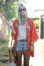 Orange-kimono-vintage-jacket-bucket-vintage-bag-diy-vintage-shorts