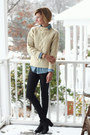 Black-ankle-boots-h-m-boots-cream-fishermans-vintage-sweater