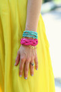 Hot-pink-ribbon-jcrew-belt-chartreuse-topshop-top