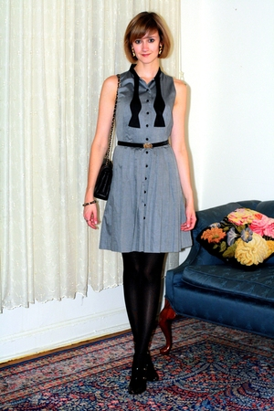 black Report Signature shoes - gray Francis dress