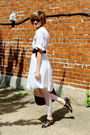 White-twenty8twelve-dress-white-american-apparel-leggings-black-candela-shoe