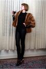 Black-forever-21-top-brown-woodward-lothrop-coat-black-h-m-jeans-black-e