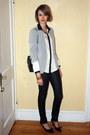 Black-snakeskin-h-m-jeans-silver-sparkly-zara-blazer