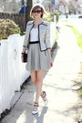 Silver-boucle-ted-baker-blazer-black-clutch-sophie-hulme-bag