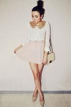 light pink pull&bear skirt