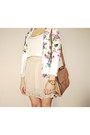 Cream-stradivarius-skirt