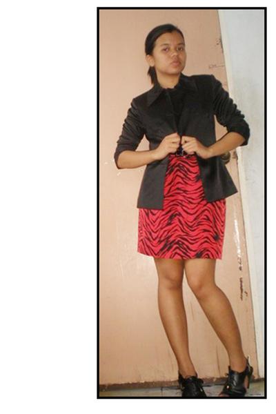 Esprit blazer - thrifted skirt