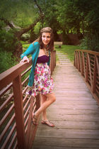 Forever21 dress - Target shoes - Delias sweater