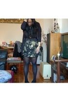 American Apparel t-shirt - DIY skirt - Chanel purse - MNG by Mango belt - Americ