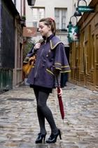 Dahlia coat - vintage accessories