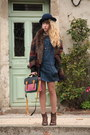 Bertie-shoes-only-dress-urban-outfitters-coat-pieces-hat