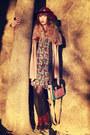 Maroon-richelieu-shoes-red-asos-dress-tan-molly-bracken-coat