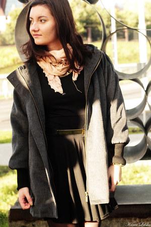 heather gray Sheinsidecom coat