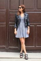silver SANDRO dress