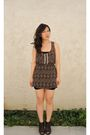 Black-forever-21-top-brown-fire-los-angeles-dress-black-bdg-skirt-brown-fo
