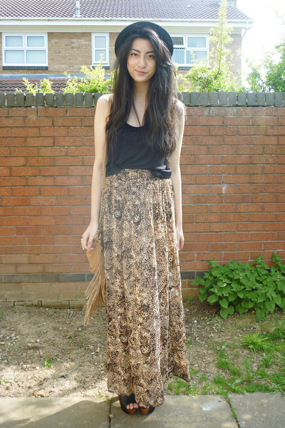 H&amp;M skirt - H&amp;M hat - H&amp;M top