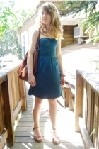 Silence & Noise dress - Bakers shoes - H&M purse - forever 21 bracelet