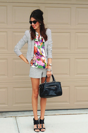 Jcrew top - BCBG jacket