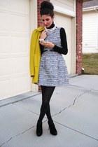 Zara dress - French Connection coat