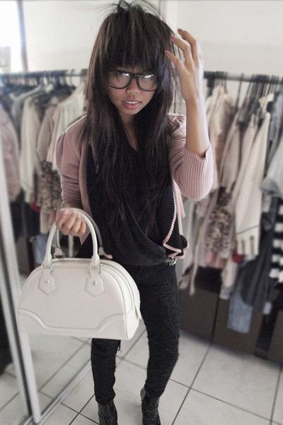sass & bide jacket - decjuba top - Lee pants - Louis Vuitton accessories - Molli
