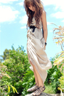 Beige-random-boutique-in-brisbane-dress-brown-wittner-shoes-black-cue-belt-