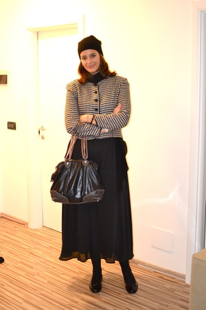 H&M dress - Marc by Marc Jacobs bag