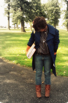 Misty Harbor coat - Forever 21 boots - Old Navy jeans - Forever 21 top - Goodwil