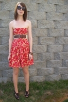 Forever21 dress - Target belt - Target shoes