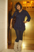diva couture blouse - purse - Ugg shoes