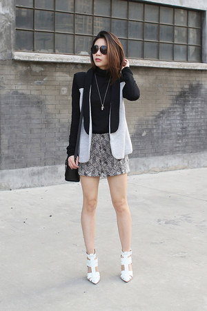 Pency Standard blazer - white Alexander Wang pumps