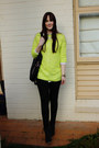 Yellow-neon-dotti-jumper