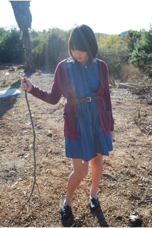 American Apparel sweater - Urban Outfitters dress - Urban Outfitters shoes