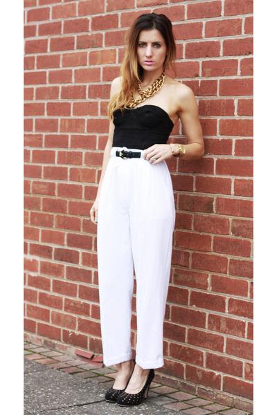 vintage pants - Sportsgirl top