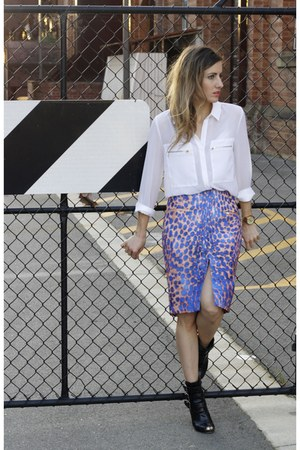 cameo skirt - Sportsgirl shirt