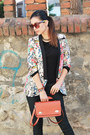 Black-leather-zara-shoes-colorful-sheinside-blazer