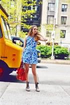 Topshop dress - LD Tuttle boots - SU-SHI bag