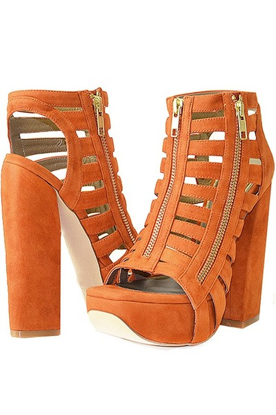carrot orange kansas Senso Diffusion sandals