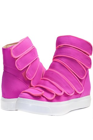 hot pink malta sneaker Jeffrey Campbell sneakers