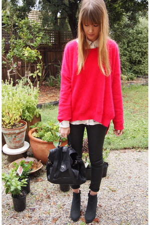 Zara jeans - Zara shirt - Stella McCartney jumper