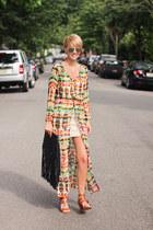 Sheinsidecom dress - Old Navy dress - H&M bag - Zara heels