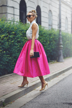 Choies skirt - Zara heels