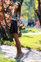 Hearts and Bows skirt - asos shirt - spike aliceband accessories