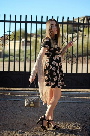 Lush dress - Marc Jacobs bag - Nordstrom cardigan