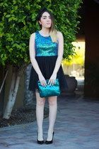 Tiffany & Co necklace - H&M dress - Winky Designs bag - Juicy Couture earrings