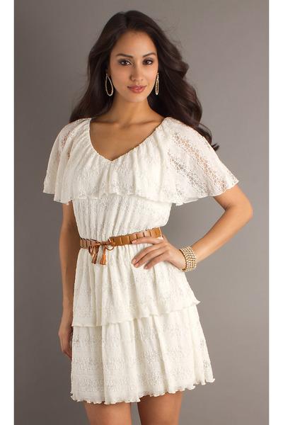 ivory gorgeous lace dresses light brown belts quot gorgeous